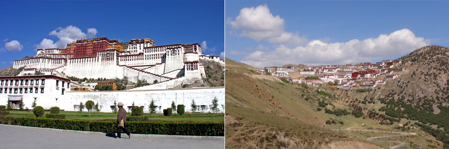 Lhasa Ganden Sayme Everest tour