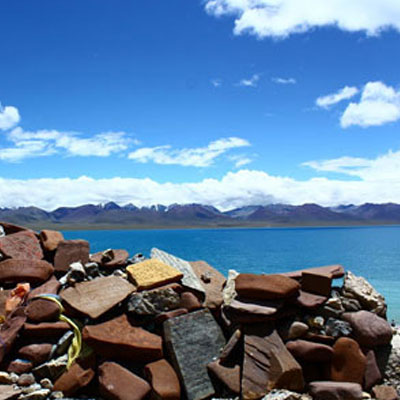 Lhasa Namtso Lake with EBC